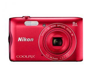Nikon COOLPIX A300 czerwony