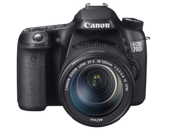 Lustrzanka Canon EOS 70D + ob. 18-135 IS STM + Poradnik w odcinkach