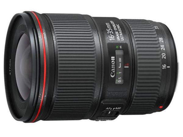 Obiektyw Canon 16-35 mm f/4L EF IS USM - Cashback 645 zł przy zakupie z aparatem!