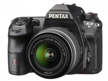 Lustrzanka Pentax K-3 II czarny + ob. DA 18-135 WR
