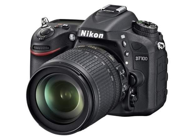Lustrzanka Nikon D7100 + ob.18-105 VR