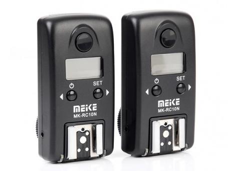 MeiKe wyzwalacz radiowy RC-10 N3 do Nikon MC-DC2