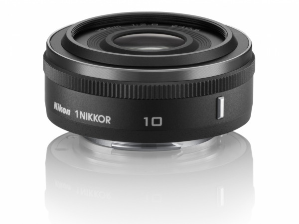 Obiektyw Nikon 1 Nikkor 10 mm f/2.8 czarny