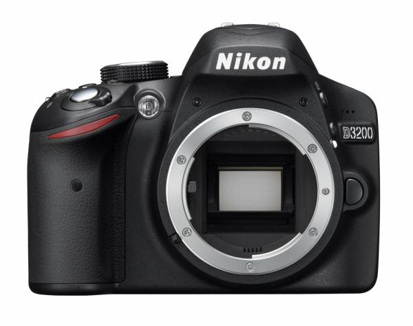 Lustrzanka Nikon D3200 body czarny