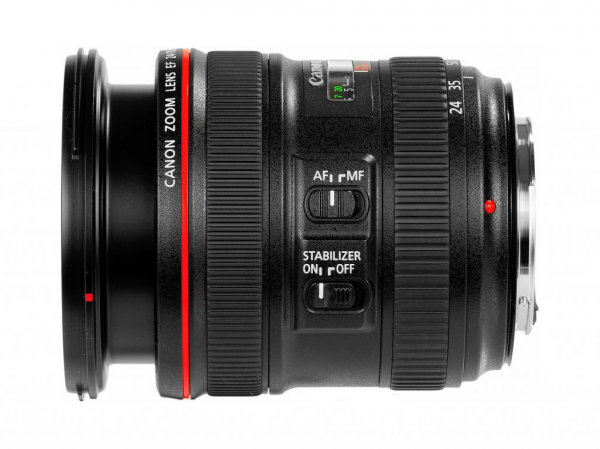 Obiektyw Canon 24-70 mm f/4.0L EF IS USM - Cashback 860 zł przy zakupie z aparatem!