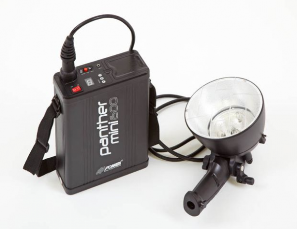 Lampa plenerowa Fomei PANTHER 600 mini + głowica błyskowa