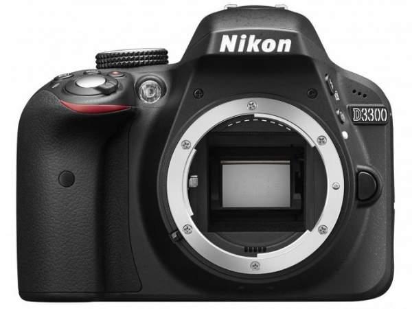 Lustrzanka Nikon D3300 body czarny