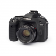 EasyCover osłona gumowa dla Canon 80D czarna