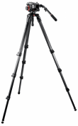 Manfrotto Statyw VIDEO 536, głowica 504HD i torba