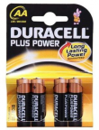 Duracell MN1500B4 Plus Power 4xAA
