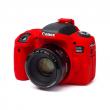 EasyCover osłona gumowa dla Canon 760D czerwona