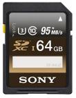 Sony Professional SDXC 64GB 95 MB/s UHS-I C10 U3