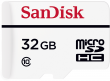 Sandisk microSDHC 32 GB High Endurance Video Monitoring Home
