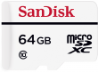 Sandisk microSDXC 64 GB High Endurance Video Monitoring Home