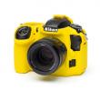 EasyCover osłona gumowa dla Nikon D500 żółta