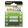 Panasonic Ni-Mh High Capacity AA 2500 mAh 2szt.