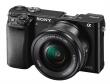 Aparat cyfrowy Sony A6000 (ILCE6000) + ob. 16-50 f/3.5-5.6 czarny