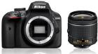 Nikon Lustrzanka D3400 + ob. 18-55mm f/3.5-5.6G VR + 70-300 AF-P G ED VR - Cashback 215zł