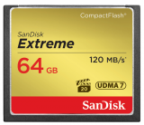 CompactFlash EXTREME 64 GB 120 MB/s