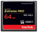 Sandisk CompactFlash EXTREME PRO 64 GB 160 MB/s