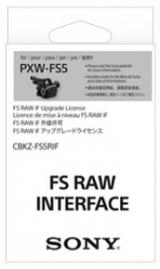 Sony Upgrade RAW do Sony FS5