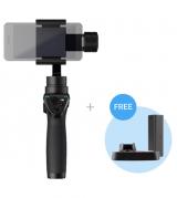 DJI Osmo Mobile stabilizator (gimbal) do smartfonów czarny + dodatkowy akumulator + podstawka