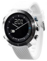 Cogito Classic analogowy zegarek z cyfrowym wyświetlaczem dla urządzeń z systemem iOS 7 i Android 4.3 (biały)