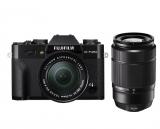 FujiFilm X-T20 + ob. 16-50 mm f/3.5-5.6 OIS II + ob. 50-230 mm f/4.5-6.7 OIS II czarny