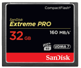 CompactFlash EXTREME PRO 32 GB 160 MB/s