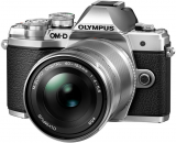 Olympus OM-D E-M10 Mark III + ob. 14-42 EZ + ob. 40-150 R srebrny