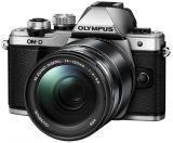 Olympus OM-D E-M10 Mark II srebrny + ob. 14-150 czarny