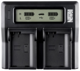 Newell LCD Dual Charger do Nikon EN-EL3e