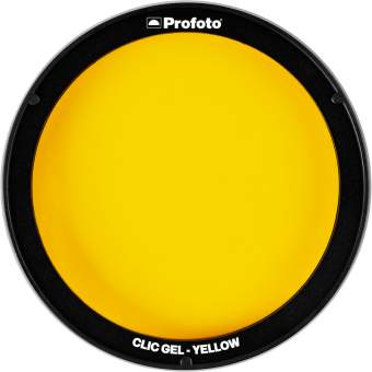 Profoto Clic Gel Yellow do lampy C1