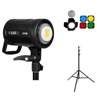 GlareOne LED 600D + wrota + statyw Air A-275 (zestaw)