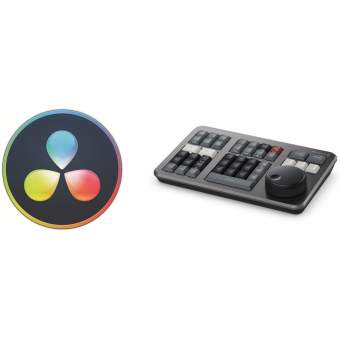 Blackmagic DaVinci Resolve Studio (dongle) + Speed Editor