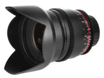 Samyang 16 mm T2.2 ED AS UMC CS VDSLR / Canon M