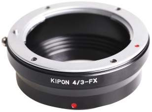 Kipon Adapter Fuji X body OM4/3-FX