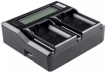 Newell LCD Dual Charger do Nikon EN-EL14