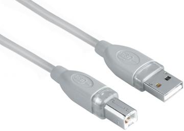 Hama kabel USB A-B 1.8 m