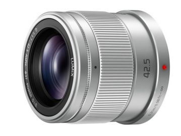 Panasonic LUMIX G 42.5 mm f/1.7 ASPH. POWER O.I.S. srebrny