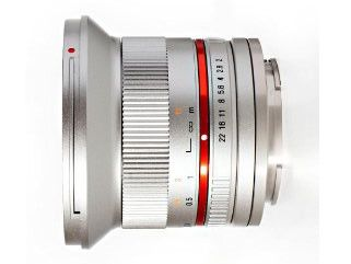 Samyang 12 mm f/2.0 NCS CS / Micro 4/3 srebrny