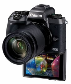Canon EOS M5 + ob. 18-150 IS STM