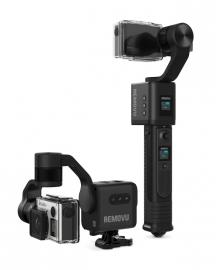 Removu S1 Gimbal trzyosiowy (stabilizator) do kamer sportowych (GoPro Hero3/3+/4/5)