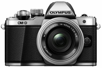 Olympus OM-D E-M10 Mark II + ob. 14-42 EZ srebrny