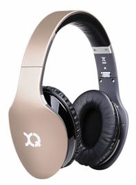 Xqisit LZ380 - Nauszne, Bluetooth (Złote Matowe)