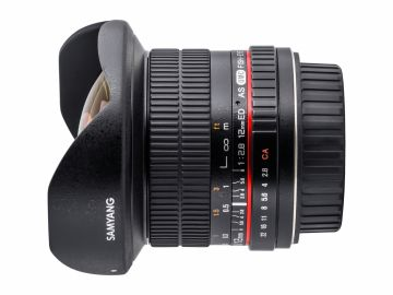 Samyang 12 mm f/2.8 ED AS NCS Fish-eye / Samsung NX