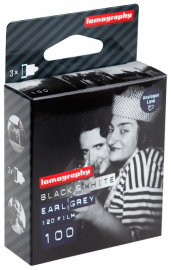 Lomography EARL GREY B&W 100 ISO 3 PCS 120 FILM