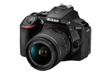 Nikon D5600 + 18-55 AF-P VR - Cashback 430zł