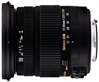 Sigma 17-50 mm f/2.8 EX DC OS HSM / Canon