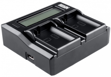 Newell LCD Dual Charger do Nikon EN-EL15